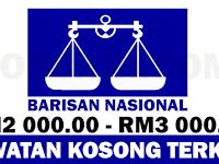 JAWATAN KOSONG TERBARU DI BARISAN NASIONAL BN :p - GAJI RM2,000.00 - RM3,000.00