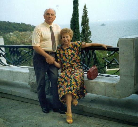 Михаил Горбачев в Крыму