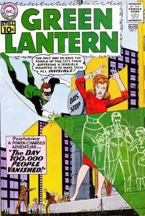 Green Lantern #7 comic cover