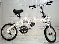 1 Sepeda Lipat DoesBike 1601 Convoy 16 Inci