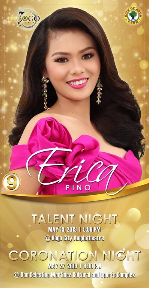 ERICA PINO Candidate #9