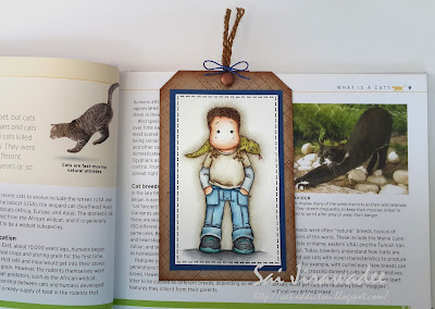 Magnolia Edwin with Lizard Bookmark