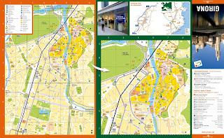Mapa de Girona.