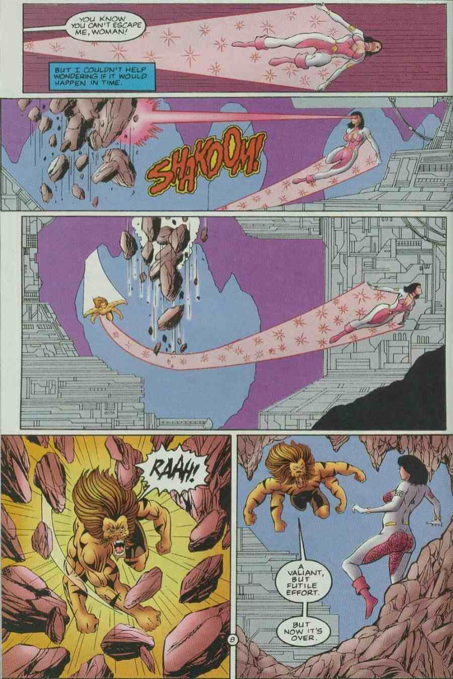 Read online Ultraverse Premiere comic -  Issue #9 - 10