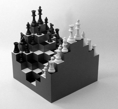 Những bàn cờ vua đặc biệt