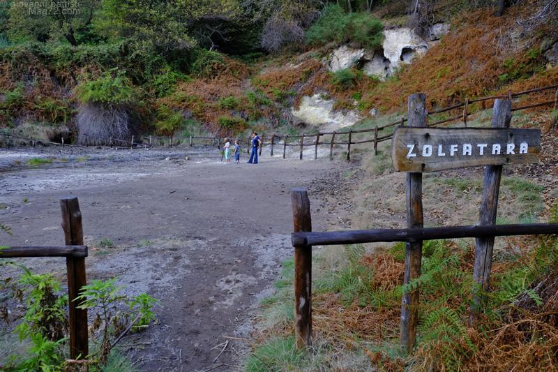Cascata della Diosilla, la zolfatara