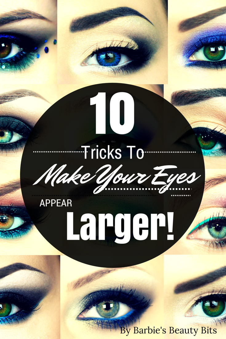 10 Makeup Tricks To Make Your Eyes Appear Larger, By Barbie's Beauty Bits