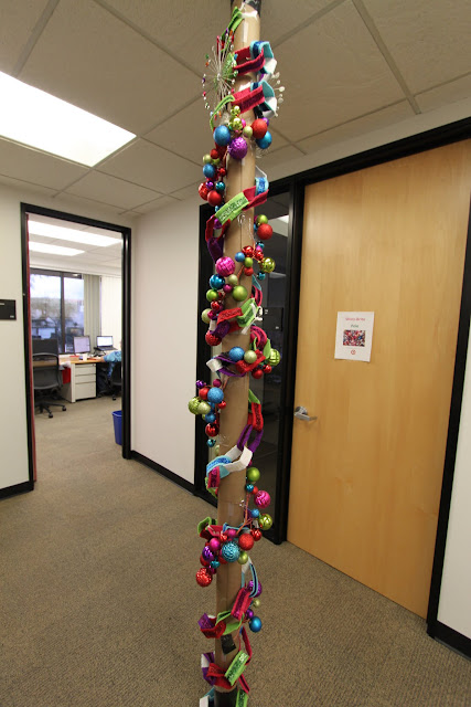 The Office Holiday Pole Decorating Contest Mid Century