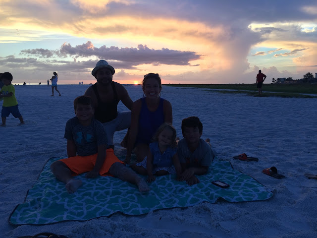 Sunset in Siesta Key, FL