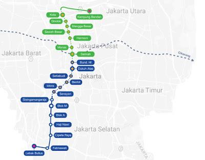 Peta Rute MRT