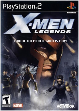 Download X-Men Legends (PS2)