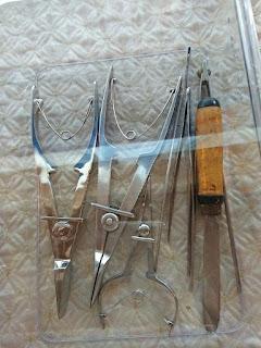 Beberapa peralatan yang digunakan dalam proses budidaya. Sarasehan pra event  6th Indonesian South Sea Festival (Dokpri)