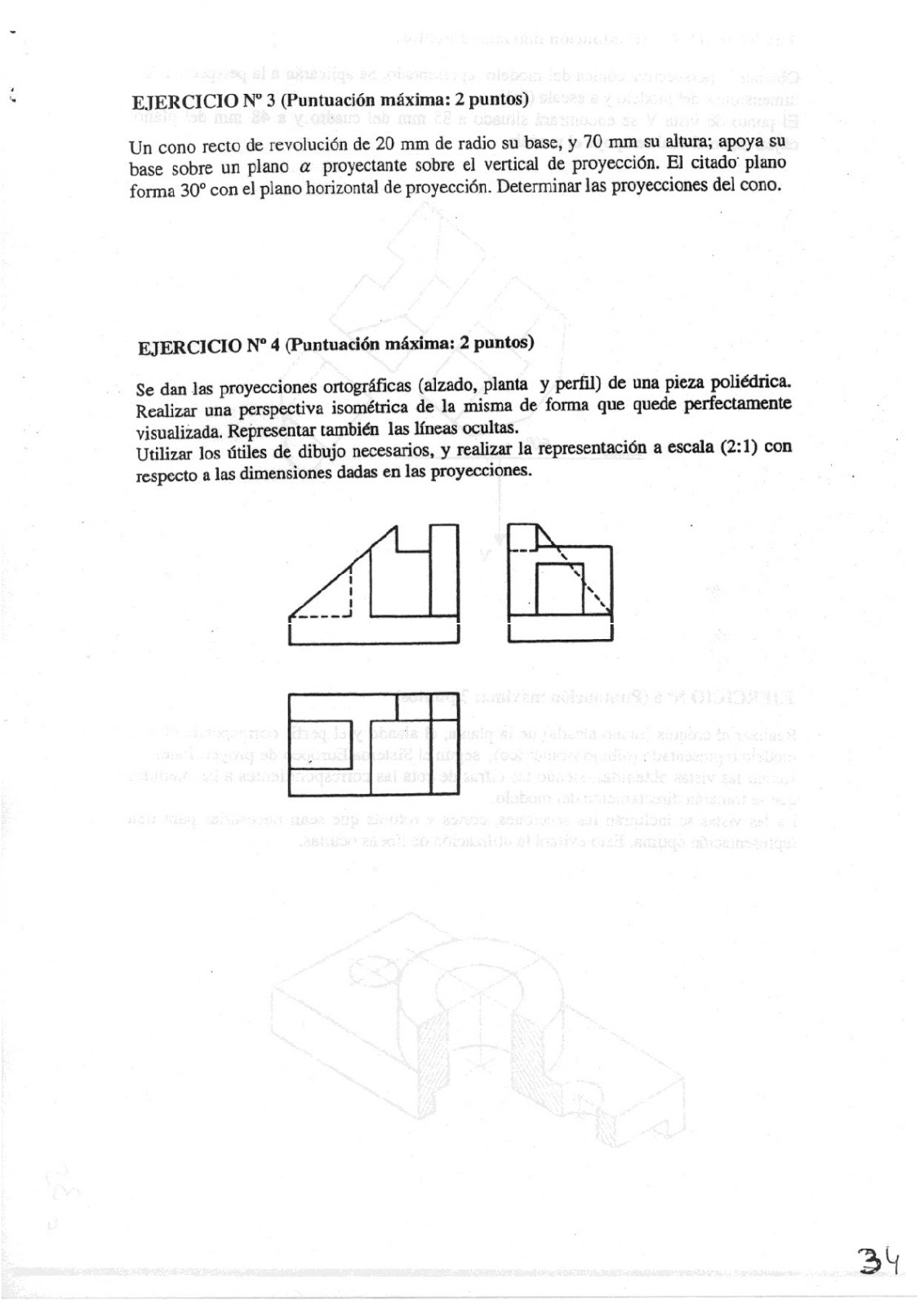 Exámenes de Evaluación Bachillerato Dibujo Técnico para el acceso a la Universidad | EBAU 2018 | Convocatorias Junio + Septiembre
