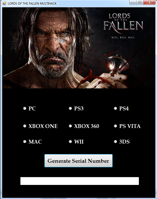 Download Lords of the Fallen Key Generator 2017 ~ New Hacks