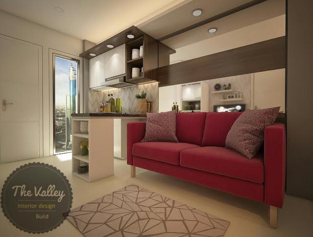 Desain Interior Apartemen Mewah - The Valley Interior Design