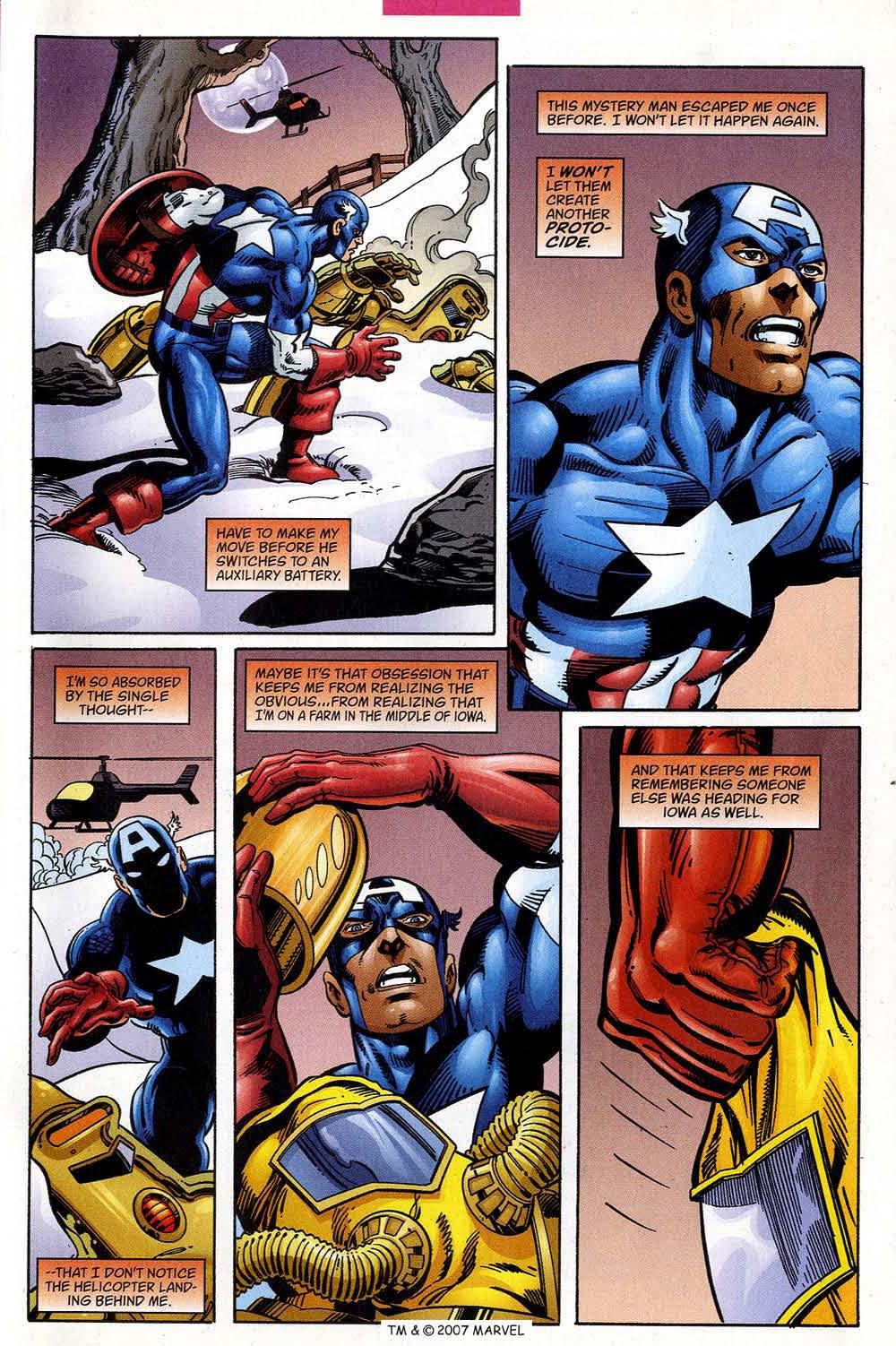 Captain America (1998) Issue #39 #46 - English 33