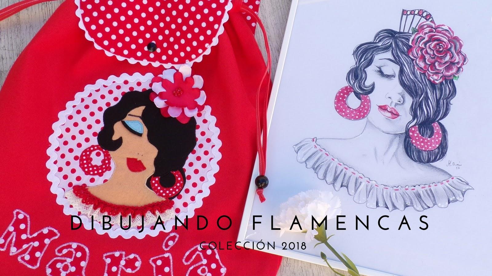 camisetas-flamencas-bolsos-personalizados