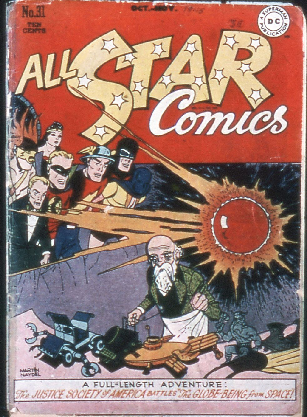 All-Star Comics (1940) issue 31 - Page 1