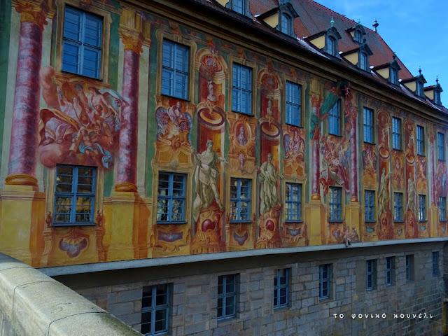 Τοιχογραφίες στη Γέφυρα του Δημαρχείου του Μπάμπεργκ / Altes Rathaus, Bamberg