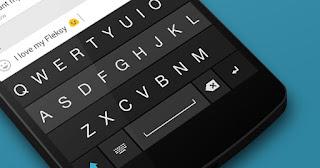 Aplikasi Fleksy Keyboard