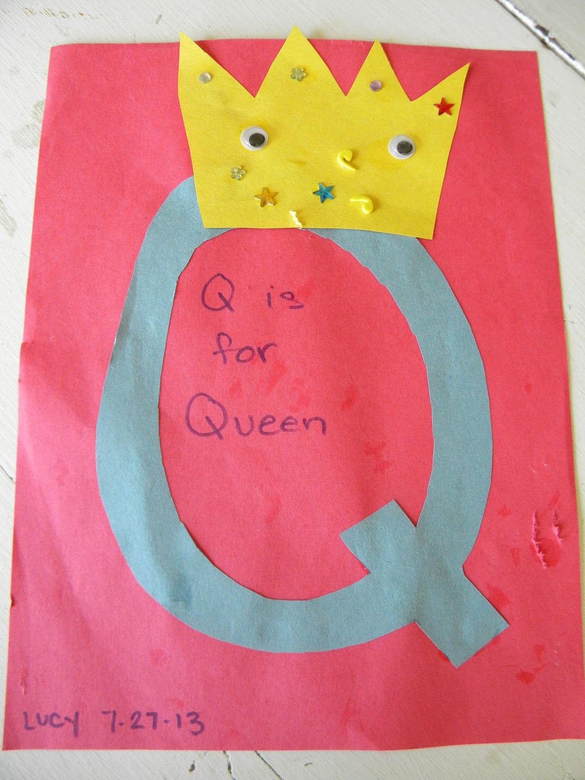 Adventures In La La Land Q Is For Queen And Quilt