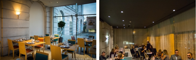 Hilton Hotel Restaurant Before and After