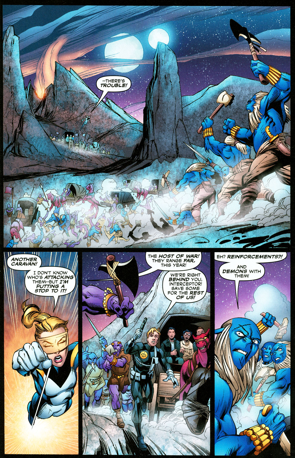 Read online Trinity (2008) comic -  Issue #32 - 7