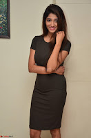 Priya Vadlamani super cute in tight brown dress at Stone Media Films production No 1 movie announcement 030.jpg