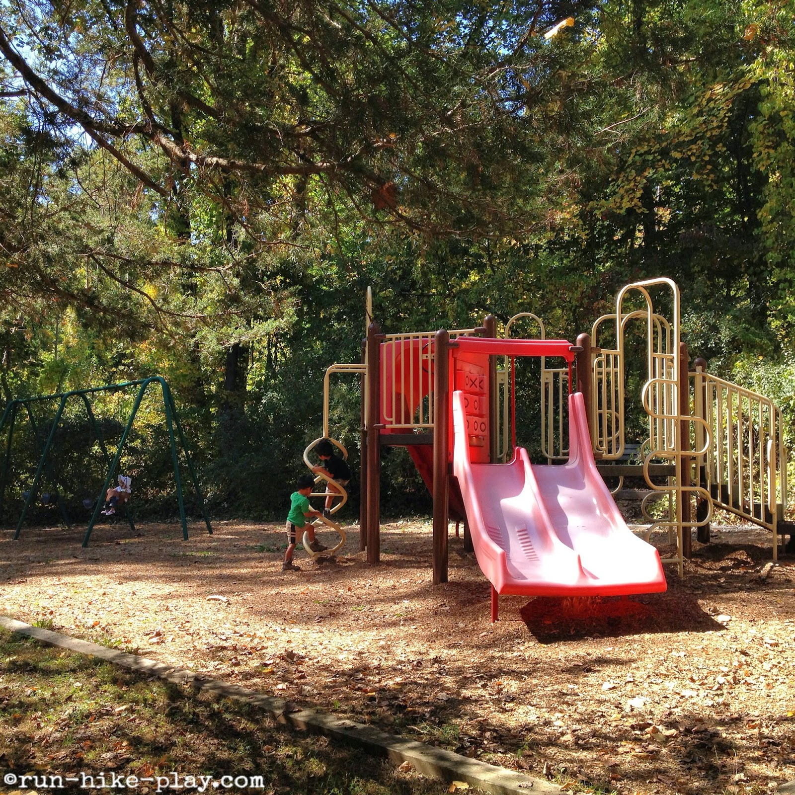 playground at Hacklebarney State Park