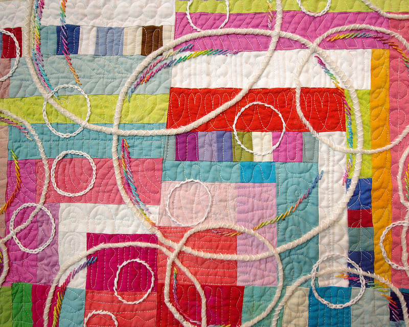 Let's Make Soap Bubbles by Keiko Goke | Tokyo Quilt Festival 2018 | © Red Pepper Quilts