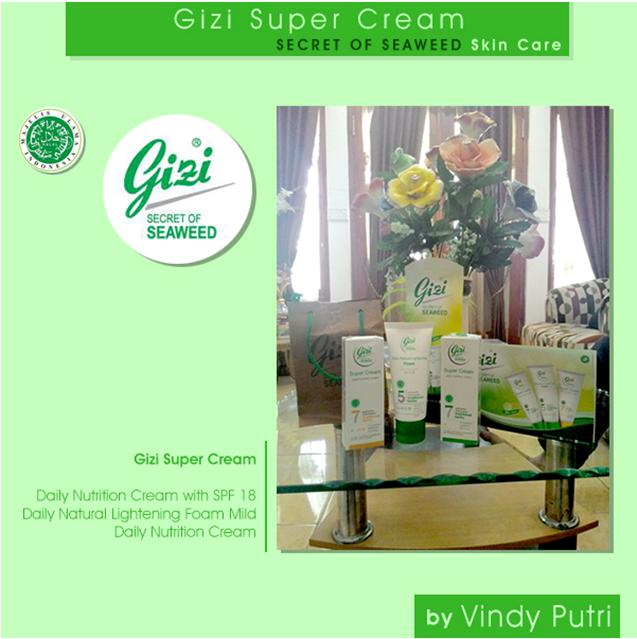 Gizi Super Cream SECRET OF SEAWEED Skin Care