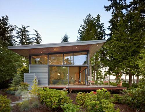 Hogares frescos residencia frente a la costa amurallada for Casa techo 1 agua