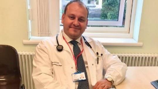 Albanian doctor Kristo Papa