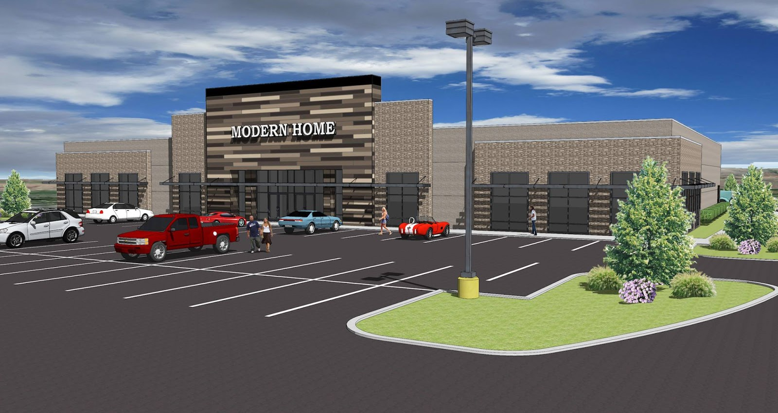 New Furniture Store Being Built On Eagle Drive