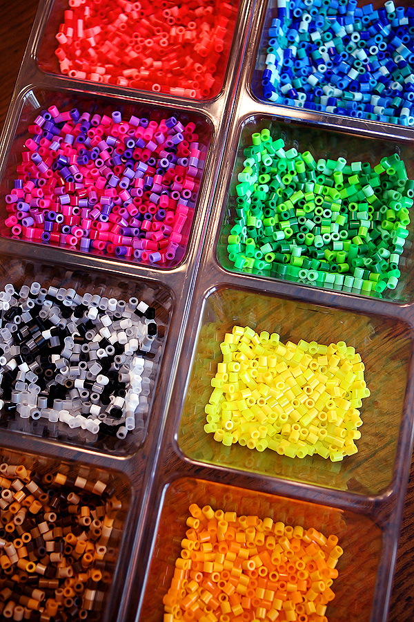 Perler Beads DIY Jewelry Tutorial - learn how to make fun, inexpensive jewelry!  the beads..