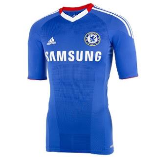 Jersey Kandang Chelsea Musim 2010/2011