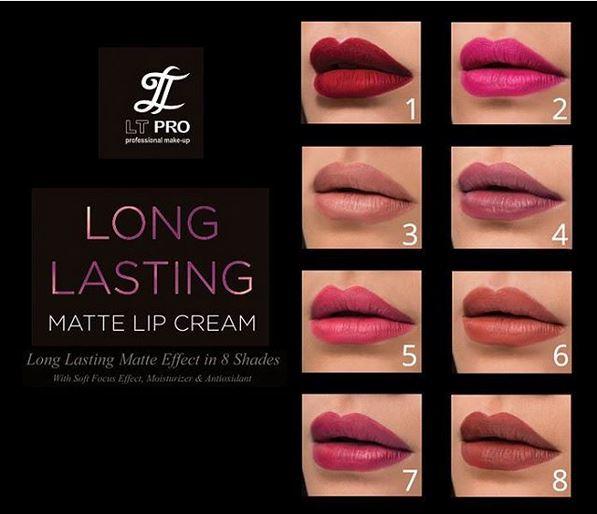 Beauty: Review LT PRO Long Lasting Matte Lip Cream - Erny