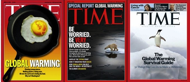 time post on world wide warming