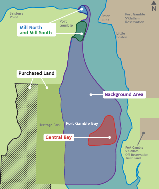 Port Gamble Washington Map.Washington Department Of Ecology Around The Sound Port Gamble