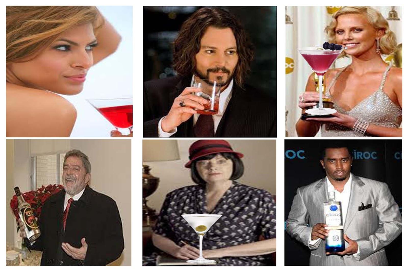 bebidas de famosos y famosas