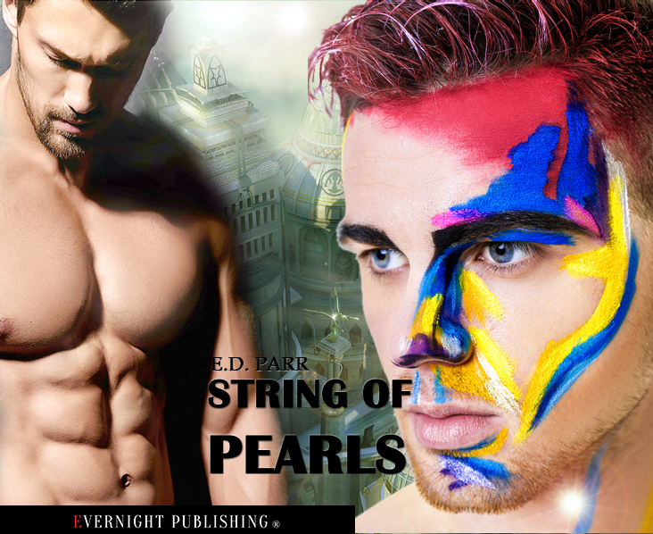 String of Pearls, gay scifi with an edge of suspense
