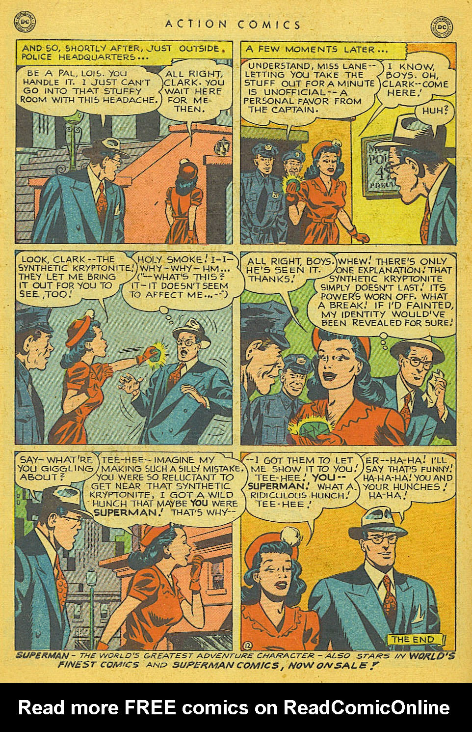 Read online Action Comics (1938) comic -  Issue #142 - 13