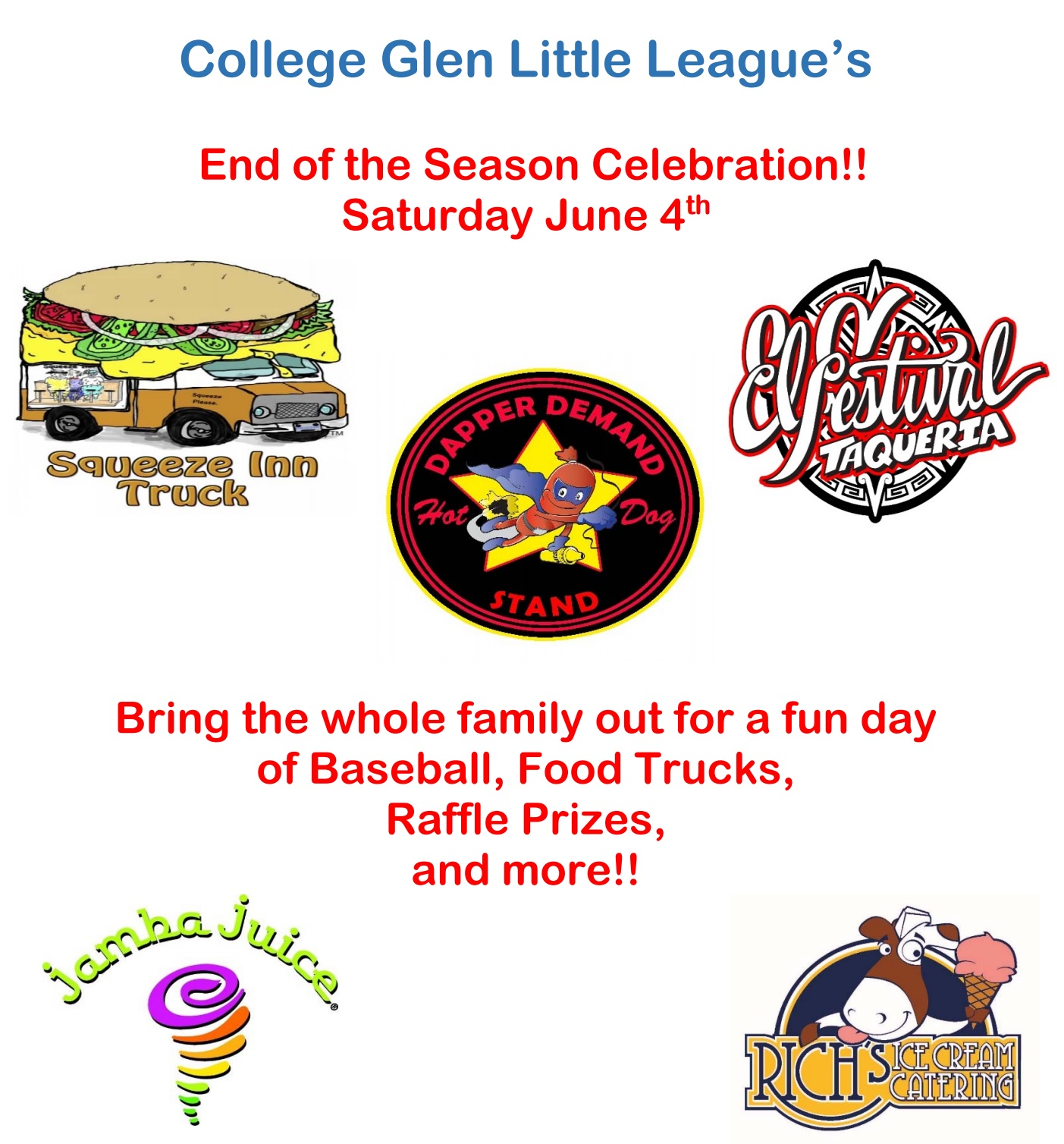 College-Glen Real Estate: College Glen Little League End ...