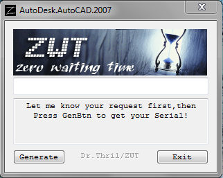 autodesk autocad 2007 keygen free download