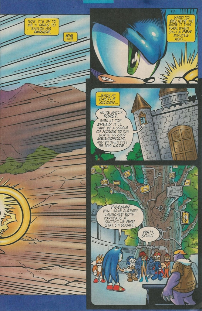 Read online Sonic The Hedgehog comic -  Issue #131 - 5