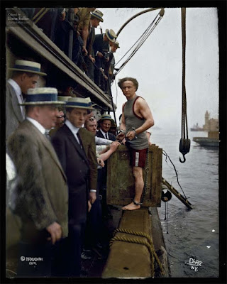 Harry Houdini, 1912 foto retocada a color
