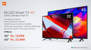 "MI tV ""32"" & ""43"" inch review & specification Rs 13999"