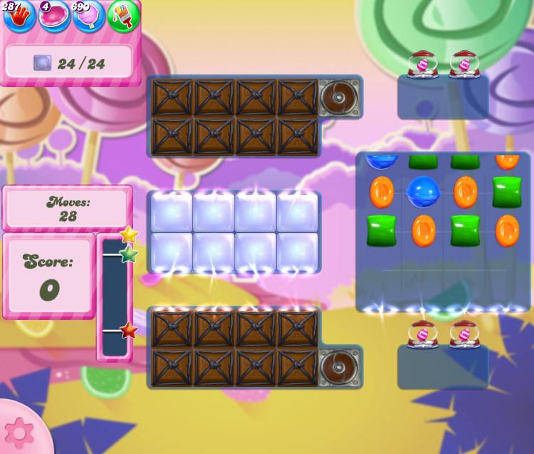 Candy Crush Saga level 2762