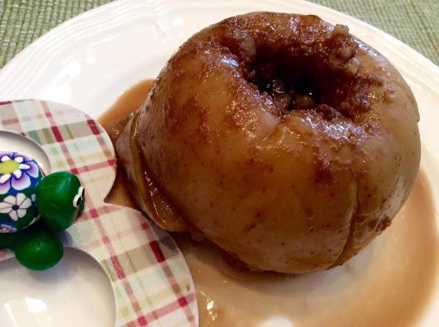 Manzanas especiadas y asadas - Slowpot