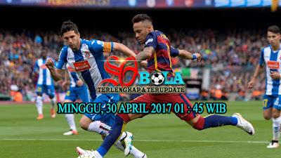 PREDIKSI PERTANDINGAN ESPANYOL VS BARCELONA 30 APRIL 2017